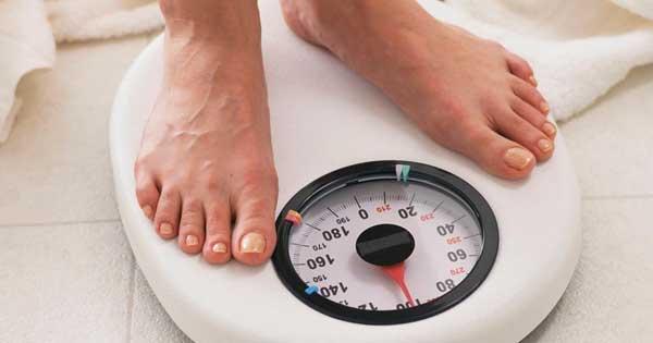 Let op je gewicht