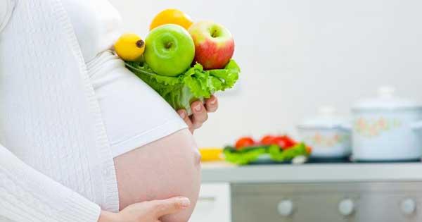 Gezonde voeding zwangerschap
