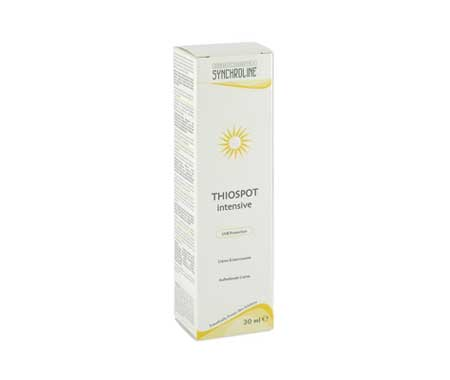 Synchroline thiospot Intensive cream